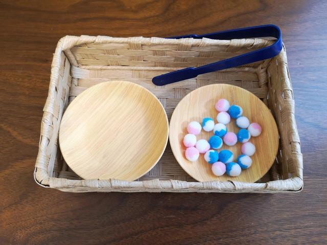 お家モンテ風!買うと高いモンテッソーリ教具をプチプラ材料で手作りしてみた。